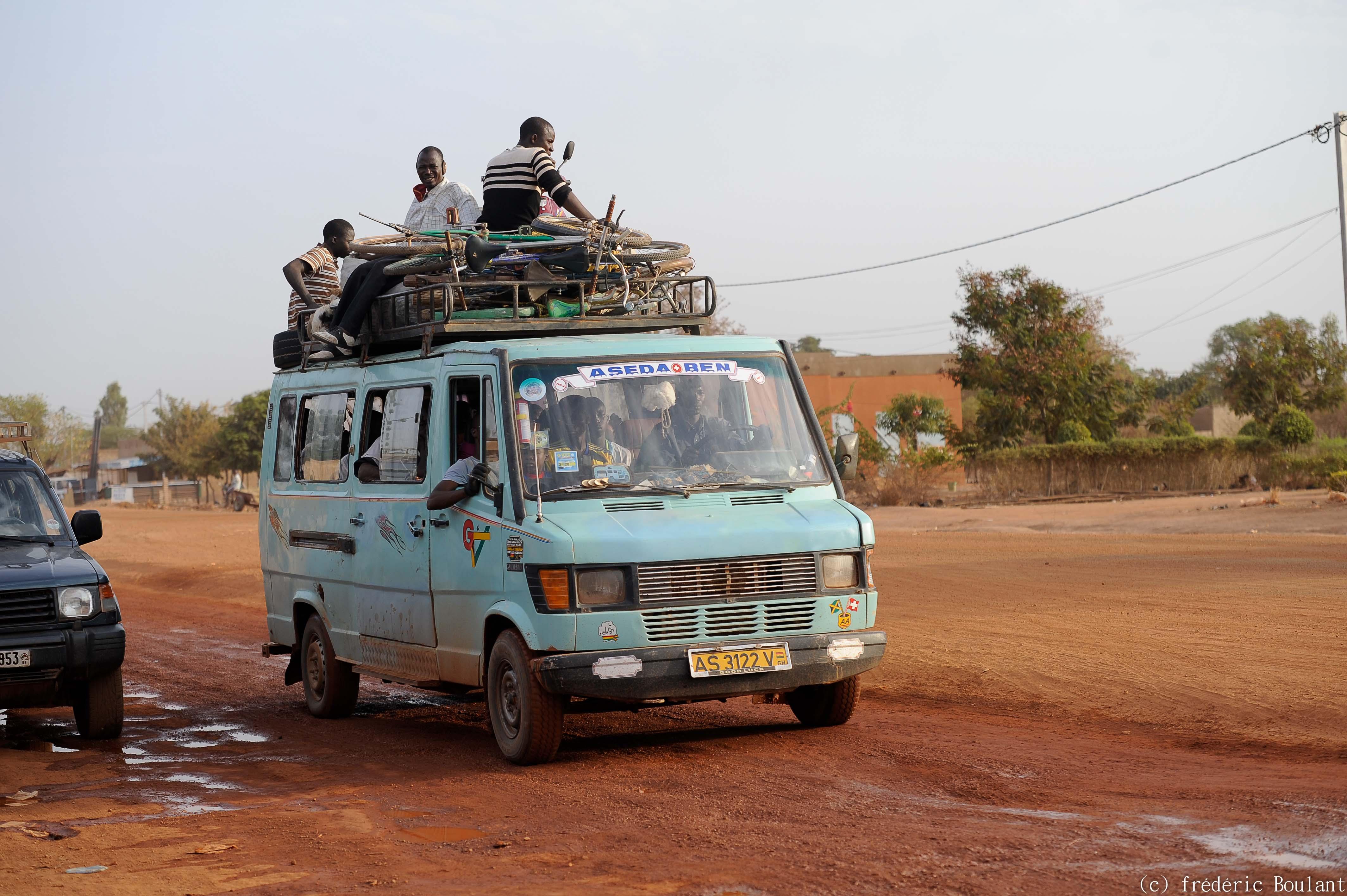 Trafic routier dans la capitale