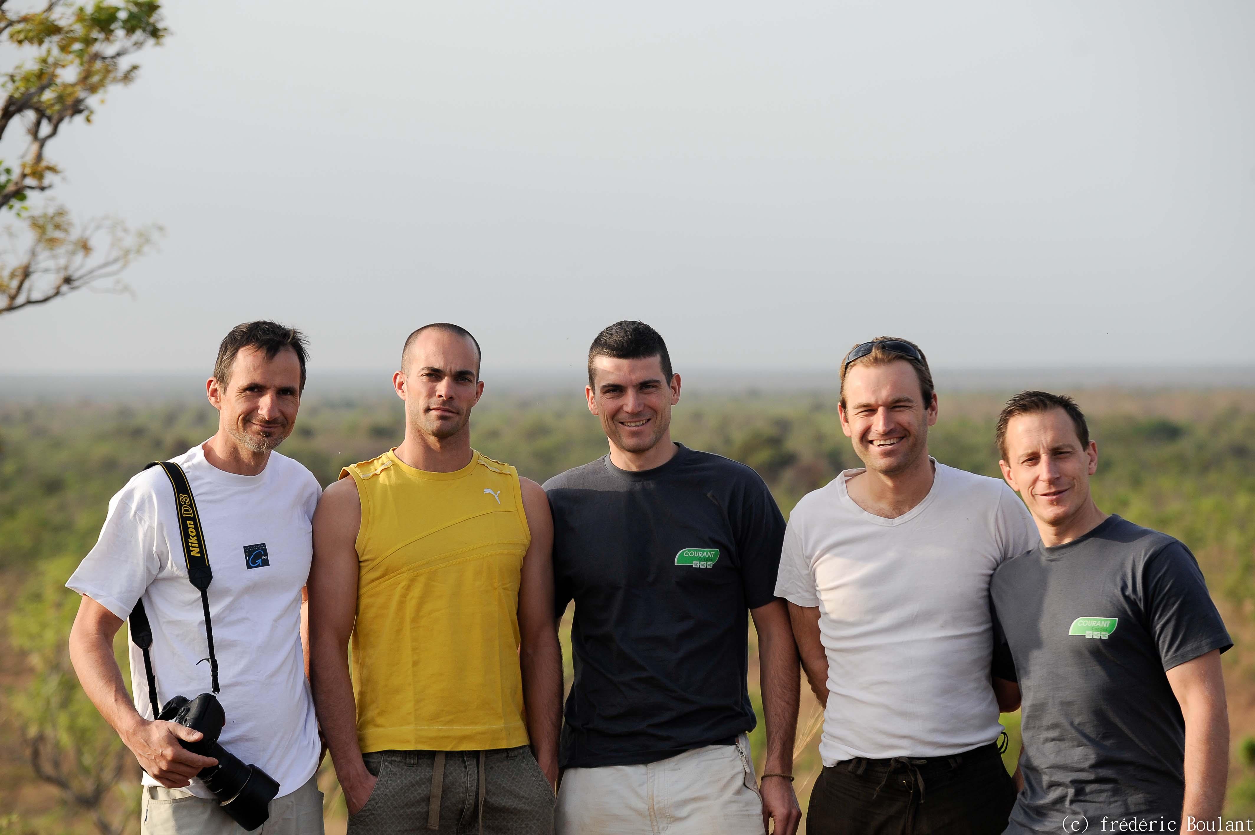 Visite de la réserve naturelle