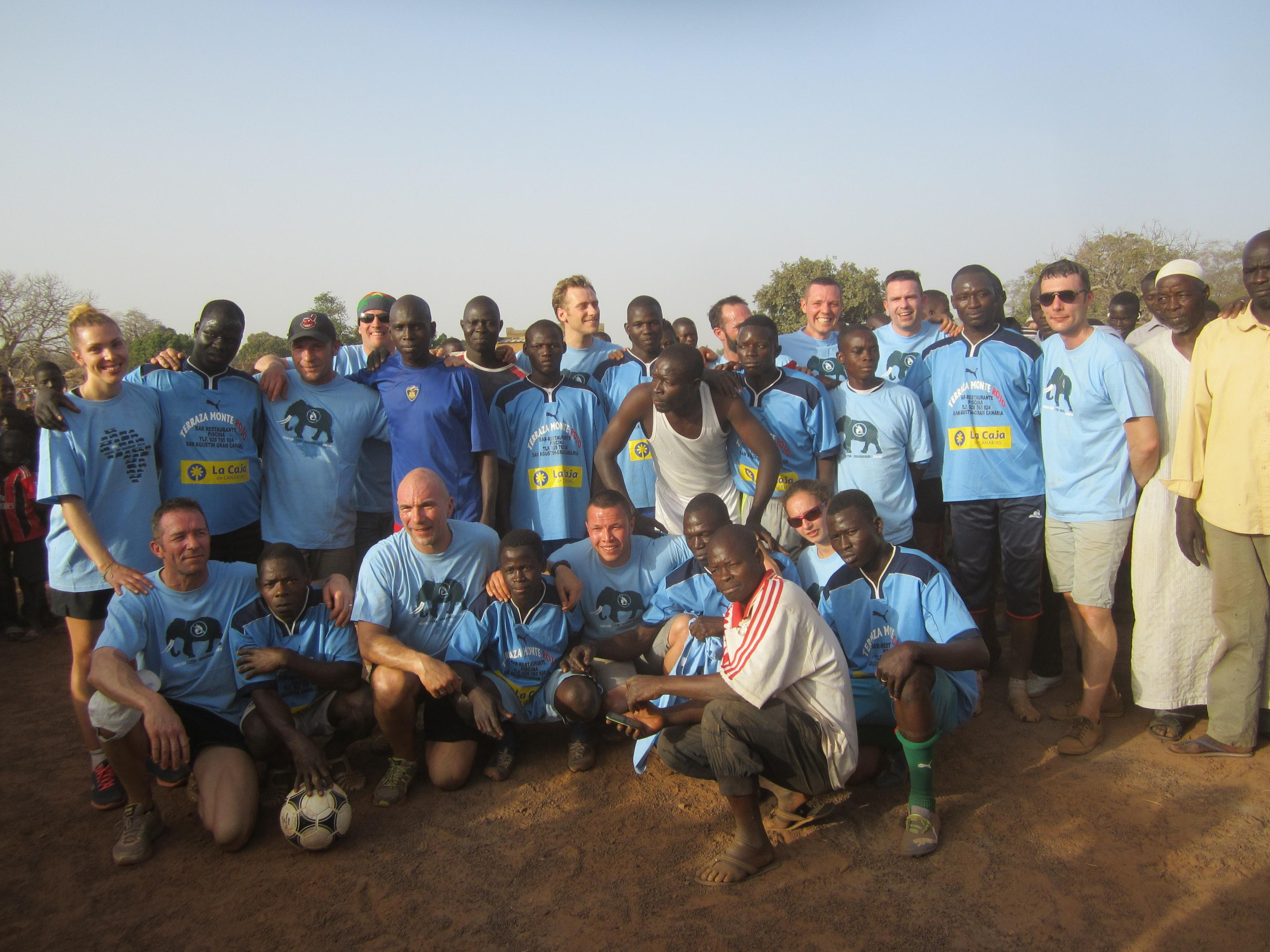 Match de foot à Basgana